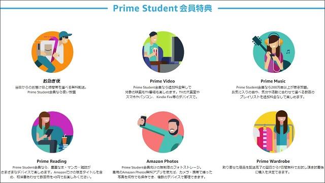 Prime Studentは学生なら加入必須の神サービス!内容詳細とAmazonプライムとの違いを完全解説
